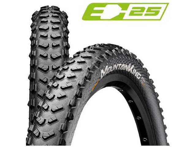 "Continental Mountain King 2.6 Performance Folding Tyre 27.5x2.60"" TLR E-25 black"